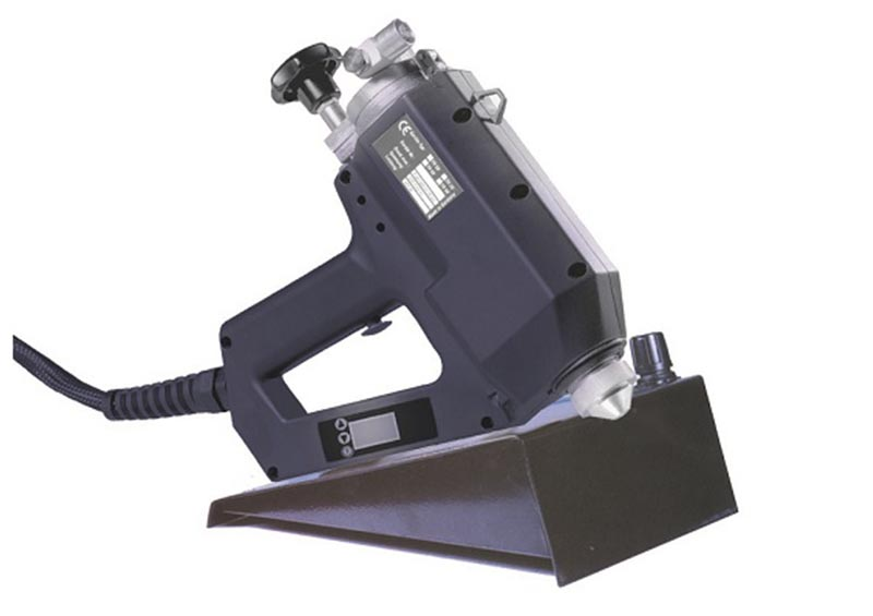 Lcd hotmelt spraying gun