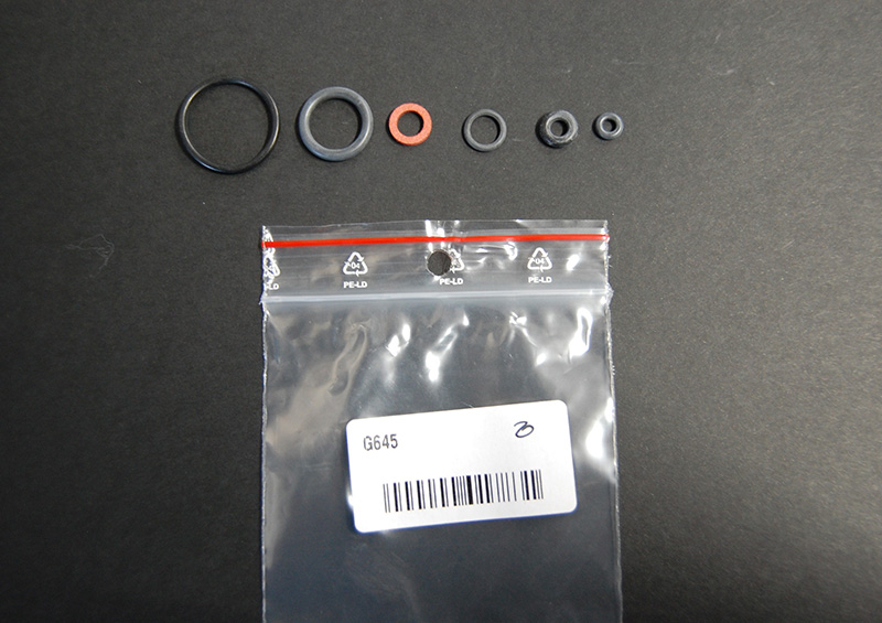 Set o-ring for spray gun G6